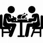 Dinner Transparent Clipart Dining Lunch Icons Cena