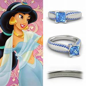NEONSCOPE - Disney Princess Engagement Rings