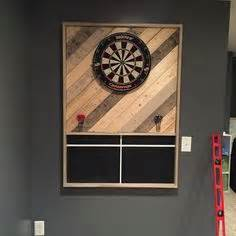 dart board cabinet ideas dart board surround diy project out of cork bulletin