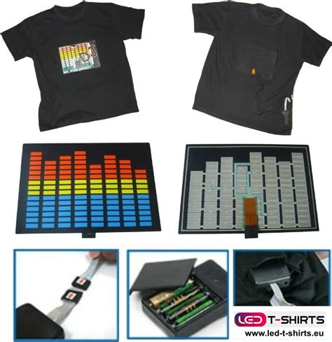 Wie Funktioniert Led Licht by Wie Funktionieren Die Leuchtenden Led T Shirts