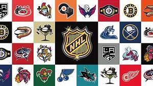 NHL -- National Hockey League team logos as redesigned by ...