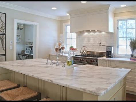 White Kitchen Countertop - white granite kitchen countertops ideas
