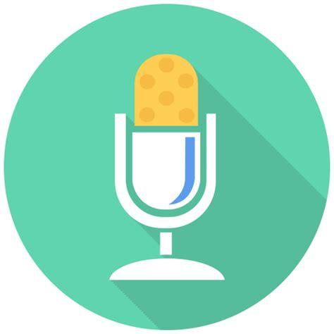 studio mic icon  flat multimedia iconset designbolts