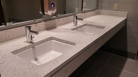 commercial concrete countertops sinks  madison wi