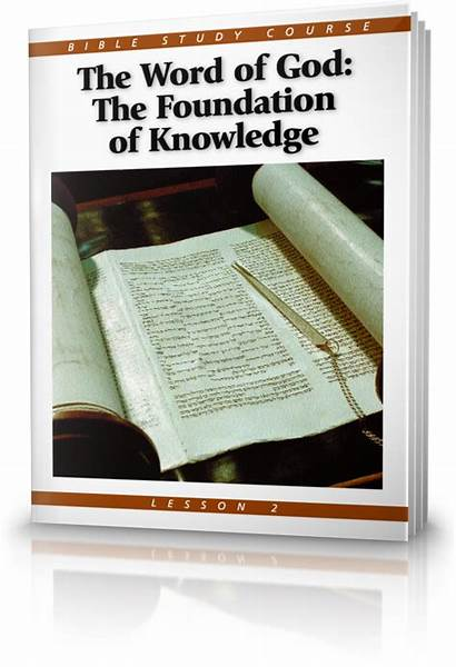 Word Bible God Study Knowledge Course Foundation