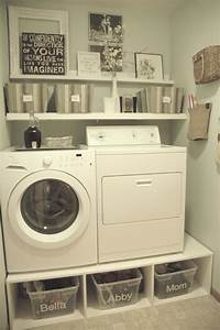 Very small spaces after makeover old laundry room design for Small laundry room ideas diy