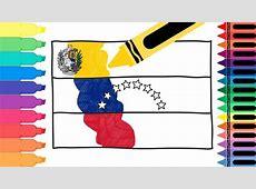 How to Draw Venezuela Flag Drawing the Venezuelan Flag