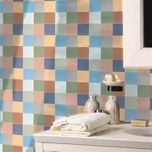 Modele De Carreaux De Ciment : carreau de ciment sol et mur beige effet ciment artdeco l ~ Zukunftsfamilie.com Idées de Décoration
