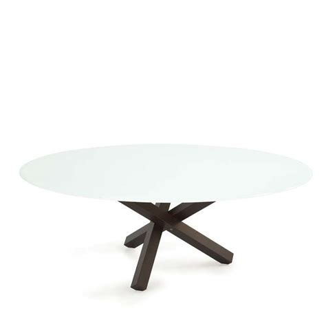 table salle a manger ovale design table de salle 224 manger ovale design en verre aikido sovet 174 4 pieds tables chaises et