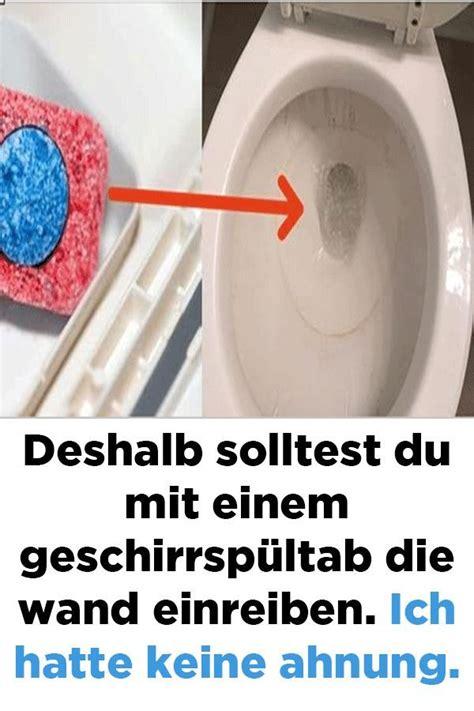 Backofen Stinkt Nach Reinigung by Deshalb Solltest Du Mit Einem Geschirrsp 252 Ltab Die Wand