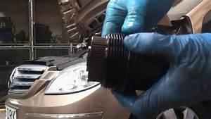 Mercedes B200 W245  Oil Engine Change