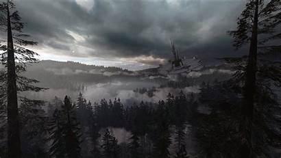 Endor Wars Star Background Battlefront Thunderstorm Noise