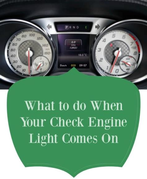 what happens when the check engine light comes on what to do when your check engine light comes on