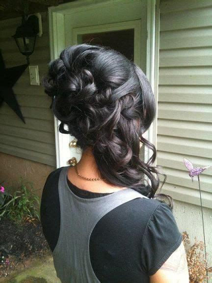 images of hair styles for hair 25 best ideas about thick hair updo on hair 7960
