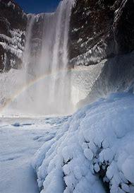 Iceland Waterfalls Winter