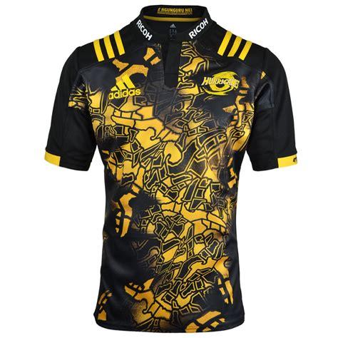 hurricanes  territory rugby shirt black  yellow