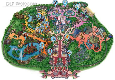 disneyland paris map micechat
