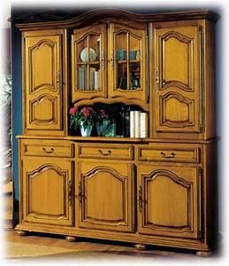 Vaisselier Chene Massif : collection la tremblade meuble ch ne massif style louis xiv ~ Teatrodelosmanantiales.com Idées de Décoration