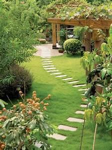 Gartenwege Aus Kies : gartenwege aus naturstein betonstein kies oder ~ Lizthompson.info Haus und Dekorationen