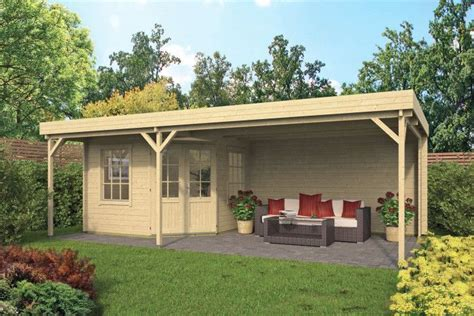 Gartenhaus Mit Terrasse Holz by Gartenhaus 700x400cm Hier G 252 Nstig Kaufen Qs