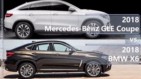It is merc's cheeky attempt at getting in on bmw's suv coupé action. 2018 Mercedes GLE Coupe vs 2018 BMW X6 (technical ...