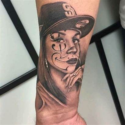 Chola Payasa Chicano Tattoos Tattoo Cry Later