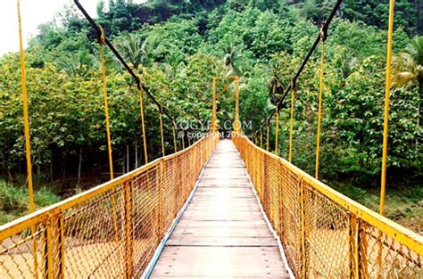 jembatan gantung siluk tempat wisata  bantul