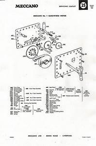 No 1 Clockwork Motor Servicing Information