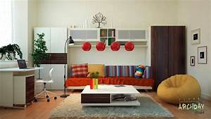 workspace inspiration With home office living room ideas