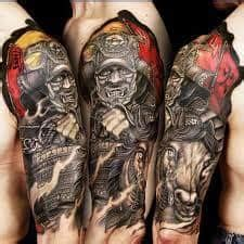 sleeve tattoo pain placement ideas designs