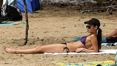 Jamie Chung Bikini Wallpapers Hawaii Beach April