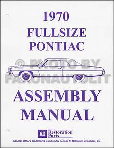 1970 Pontiac Repair Shop Manual Reprint