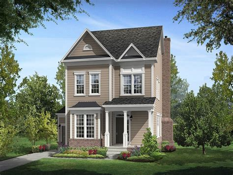 Single Family Home : Millbrook Floor Plan In Brick Yard Station Single Family