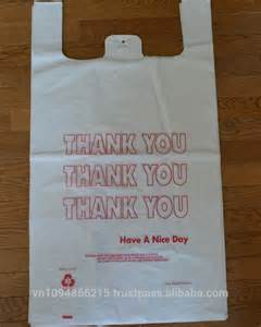 Large White Thank You Shopping Bags 1K