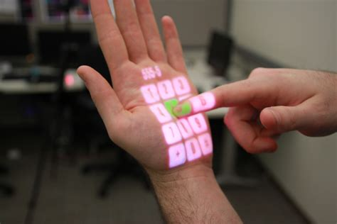 wearable projection system turns  surface