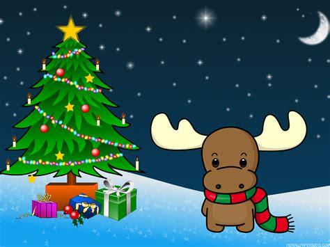 Christmas Reindeer Wallpapers Hd