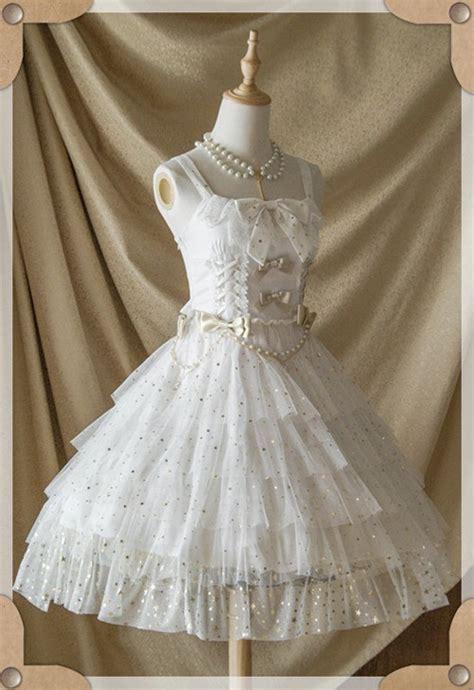 belle langue mist starry sky lolita jumper dress