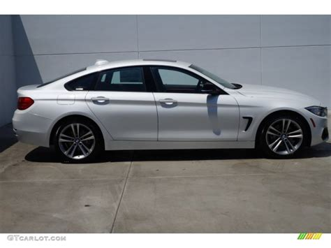 Mineral White by Mineral White Metallic 2015 Bmw 4 Series 428i Gran Coupe