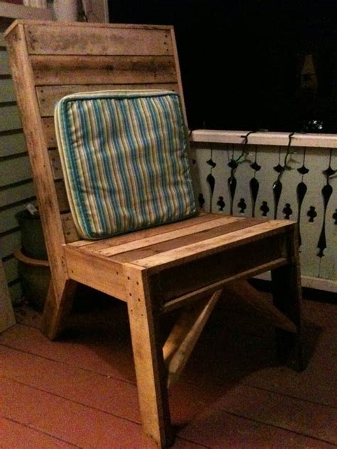 pallet dining chair pallets