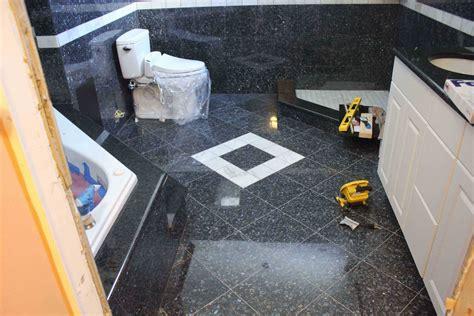 tiled bathroom floor granite kitchen studio