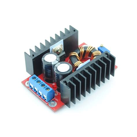 Convert your files to any format. DC-DC Verstelbare Step-up Boost Converter 150W - DC-DC150W