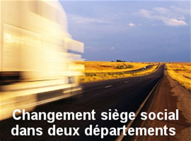 changement si鑒e social annonces legales changement de siège social le légaliste