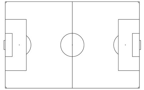 Blank Football Field Template by 27 Images Of Half Soccer Field Template Infovia Net