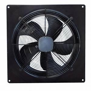 Industrial Ventilation Extractor Metal Plate Fan Axial ...