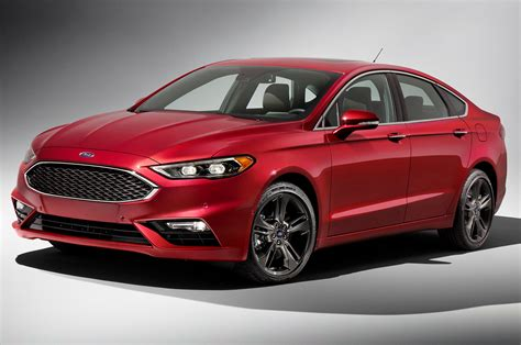 2017 Fusion Sport by 2017 Ford Fusion Refreshed For Detroit Adds 325 Hp V6