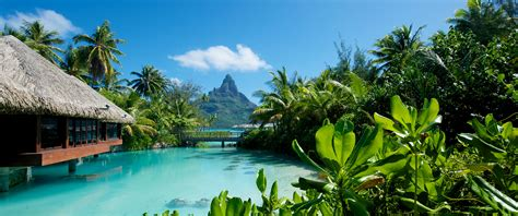 Exotic Island Vacations Bora Bora Overwater Bungalows