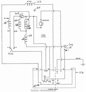 1ph Run Capacitor Wiring Diagram