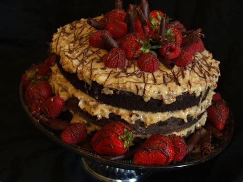 german chocolate cake  beckyssweets