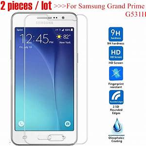 2pcs Tempered Glass For Samsung Galaxy Grand Prime G531