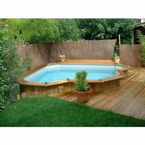 Petite Piscine Hors Sol : mini piscine en bois bluewood ~ Zukunftsfamilie.com Idées de Décoration